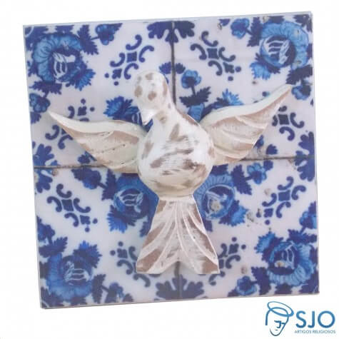 Azulejo Divino Espírito Santo Sortido - 15 cm