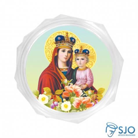 Embalagem Personalizada de Nossa Senhora da Saúde