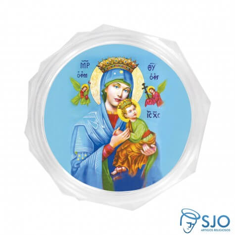 Embalagem Personalizada de Nossa Senhora do Perpétuo Socorro