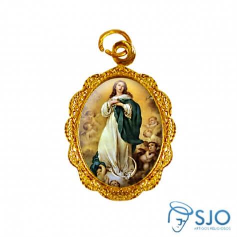 Medalha de Alum�nio - Nossa Senhora da Imaculada Concei��o - Modelo 03