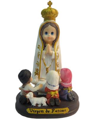 Imagem Infantil de Nossa Senhora de Fátima - 15 cm
