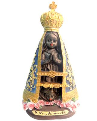 Imagem Infantil de Nossa Senhora de Aparecida - 15 cm