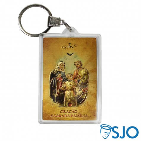 Chaveiro Sagrada Família Acrílico
