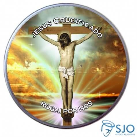 Latinha Personalizada de Jesus Crucificado