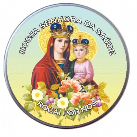 Latinha Personalizada de Nossa Senhora da Saúde