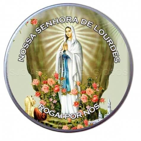 Latinha Personalizada de Nossa Senhora de Lourdes