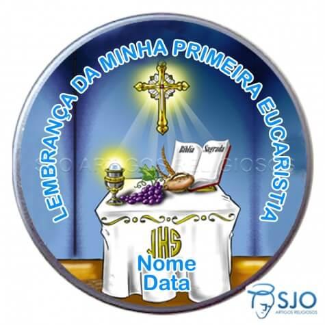 Latinhas Personalizadas - Eucaristia - Mod. 01