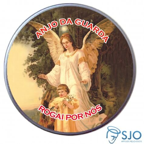 Latinha Personalizada do Anjo da Guarda
