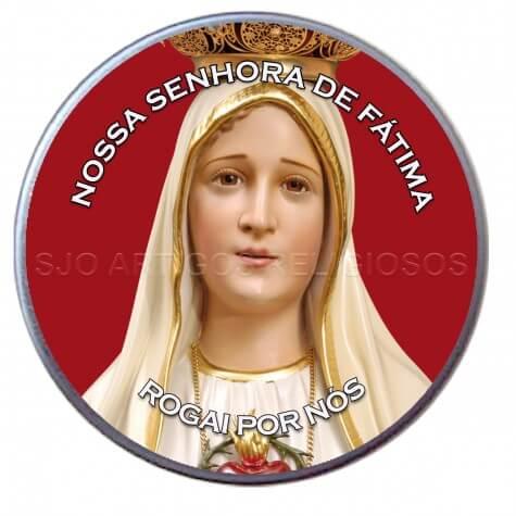 Latinha Personalizada de Rosto de Fátima