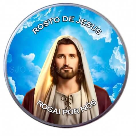 Latinha Personalizada do Rosto de Jesus
