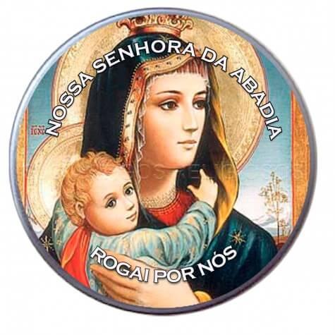 Latinha Personalizada de Nossa Senhora da Abadia