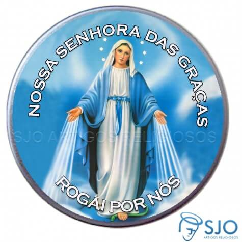 Latinha Personalizada de Nossa Senhora das Graças
