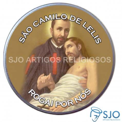 Latinha Personalizada de S�o Camilo de Lelis