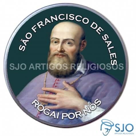 Latinha Personalizada de São Francisco de Sales