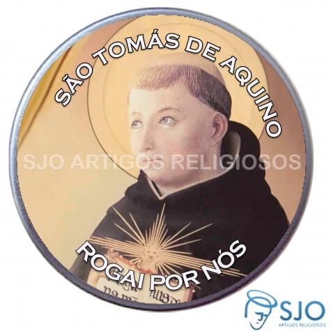 Latinha Personalizada de São Tomás de Aquino