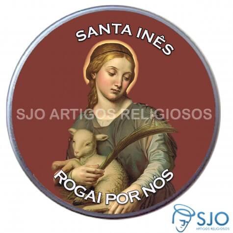 Latinha Personalizada de Santa In�s