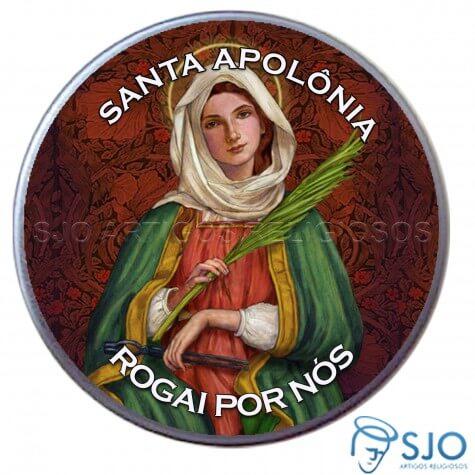 Latinha Personalizada de Santa Apol�nia