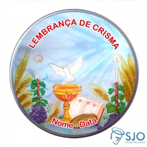 Latinhas Personalizadas - Crisma - Mod. 04