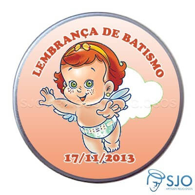 Latinhas Personalizadas - Batismo - Mod. 05