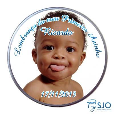 Latinha Personalizada de Aniversário do Meu Primeiro Aninho - Menino