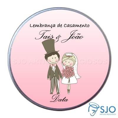 Latinha de casamento - Mod. 7