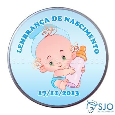 Latinha de nascimento - Mod. 2 - Masc.