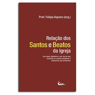 Livro - Rela��o dos Santos e Beatos da Igreja