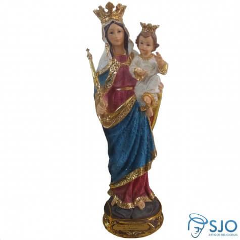 Imagem de resina Nossa Senhora Auxiliadora - 20 cm