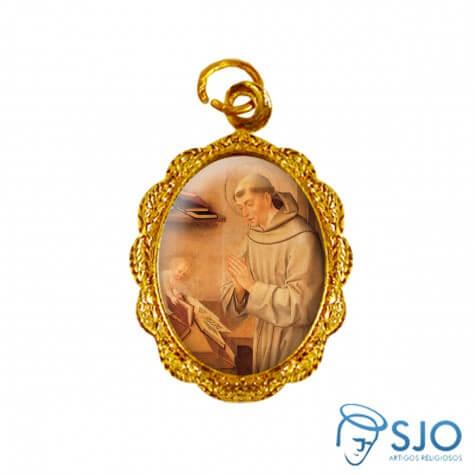Medalha de Alumínio Santo Antônio - Modelo 04