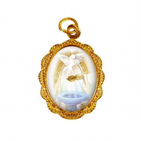 Medalha de Alumínio - Batismo