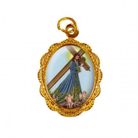 Medalha de alumínio - Bom Jesus dos Passos