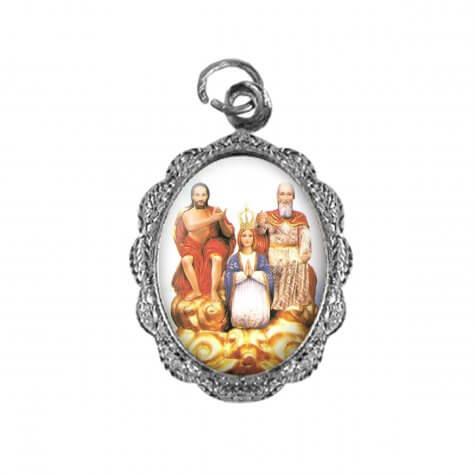 Medalha de alumínio - Divino Pai Eterno - Mod. 2