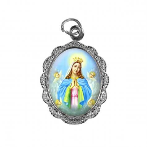 Medalha de alumínio - Nossa Senhora da Guia