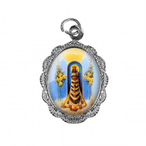 Medalha de alumínio - Nossa Senhora do Loreto