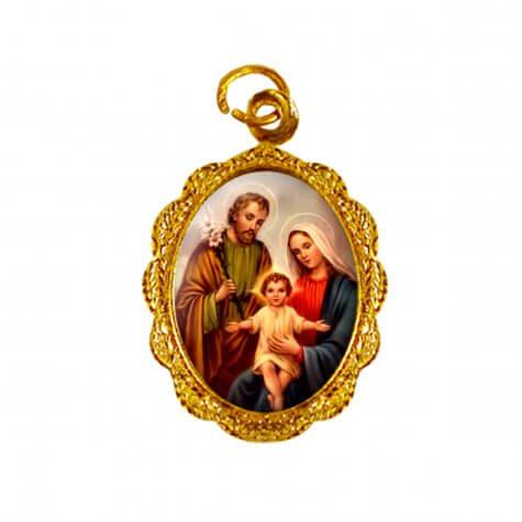 Medalha de Alumínio - Sagrada Família - Modelo 03