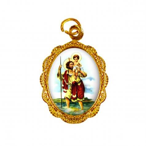 Medalha de Alumínio - São Cristóvão