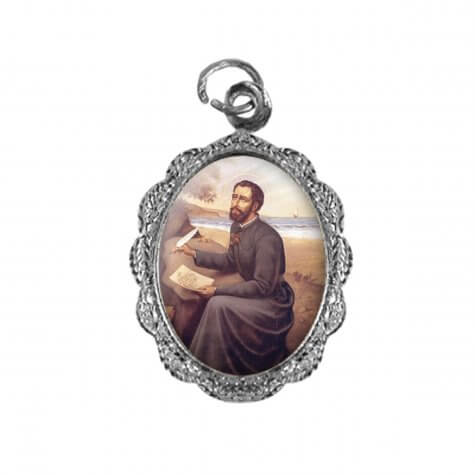 Medalha de alumínio - São Francisco Xavier