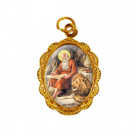Medalha de alumínio - São Jerônimo