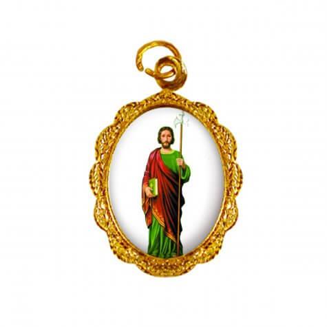 Medalha de Alumínio - São Judas Tadeu - Modelo 03