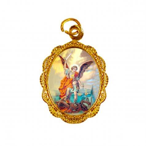 Medalha de alumínio - São Miguel Arcanjo
