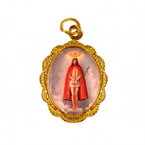 Medalha de alumínio - Senhor Bom Jesus de Iguape