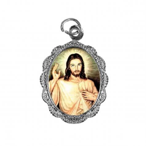 Medalha de alumínio - Senhor do Bonfim