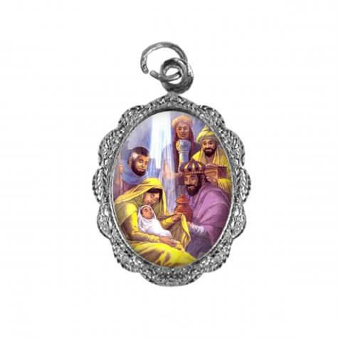Medalha de Alumínio Três Reis Magos