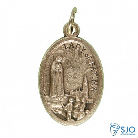 Medalha Oval Nossa Senhora de Fátima