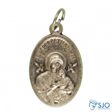 Medalha Nossa Senhora do Perpétuo Socorro - Modelo 01