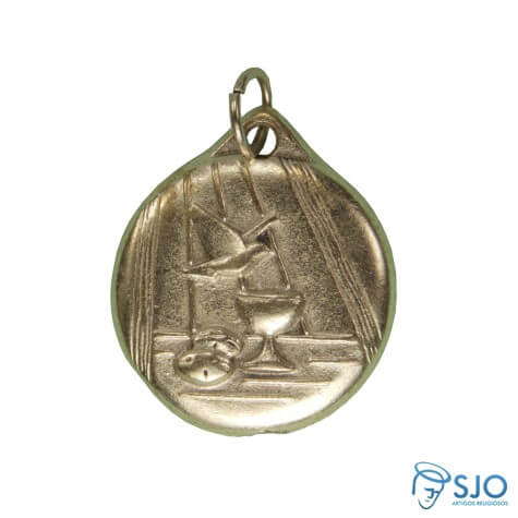 Medalha Redonda do Divino Boleada