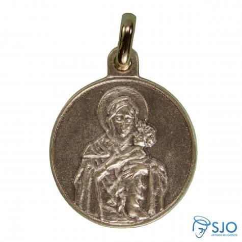 Medalha Redonda Mãe Rainha