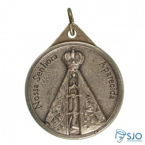 Medalha Redonda Nossa Senhora Aparecida