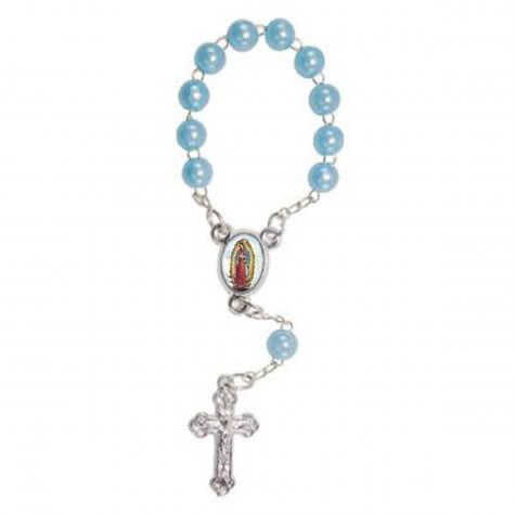 Mini Terço com Foto Nossa Senhora de Guadalupe