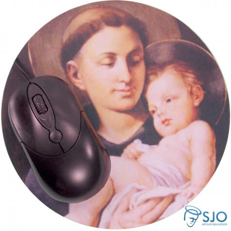 Mouse Pad Redondo - Personalizado